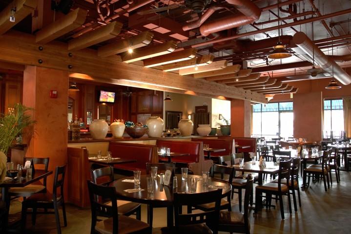 Interior Theatre Square restaurant