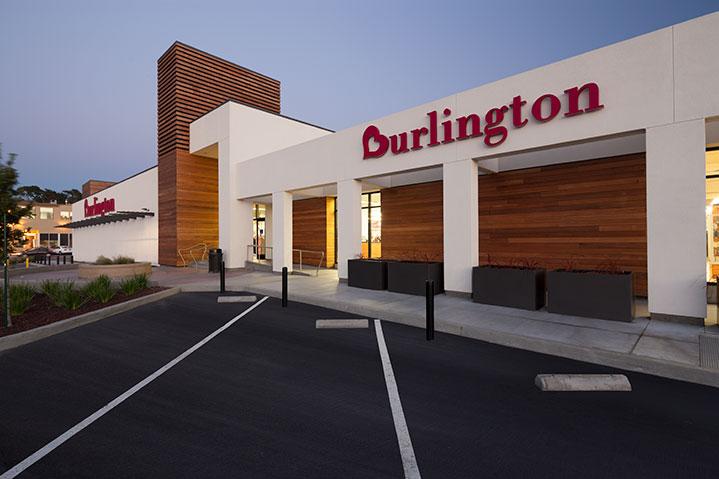 Burlington coat factory exterior upgrade and site work