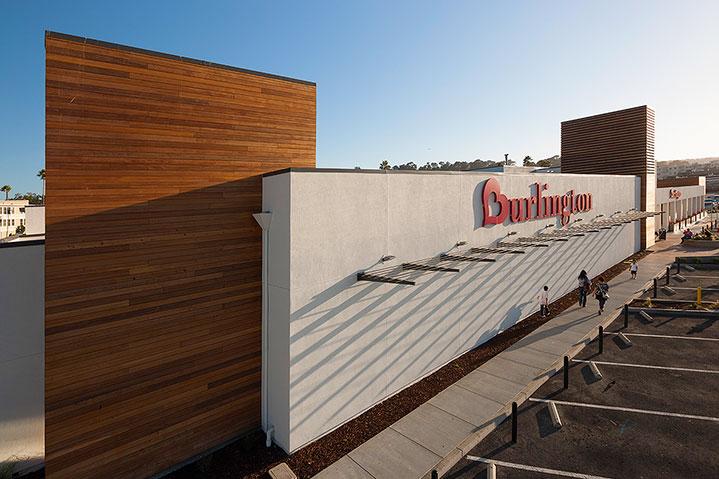 Burlington coat factory exterior renovation