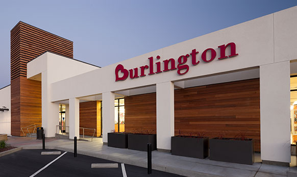 Burlington Coat factory renovation and facade