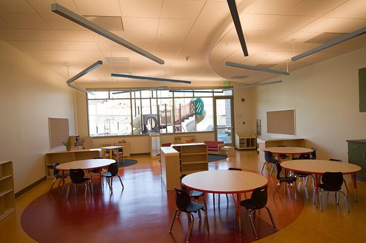 Prewett park interior learning center