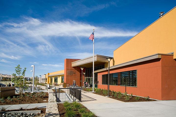 Prewett park community facility building