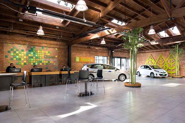 San Francisco Toyota and scion interior renovation