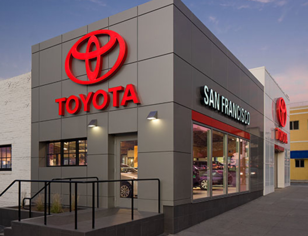 San Francisco Toyota Showroom