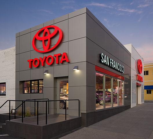 San Francisco Toyota and scion renovation