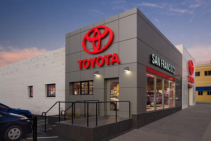 Toyota San Francisco >> San Francisco Toyota And Scion Midstate Construction