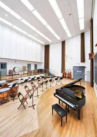 College of Marin performing arts recital room