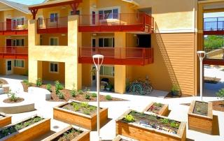 Kellgren senior housing planters