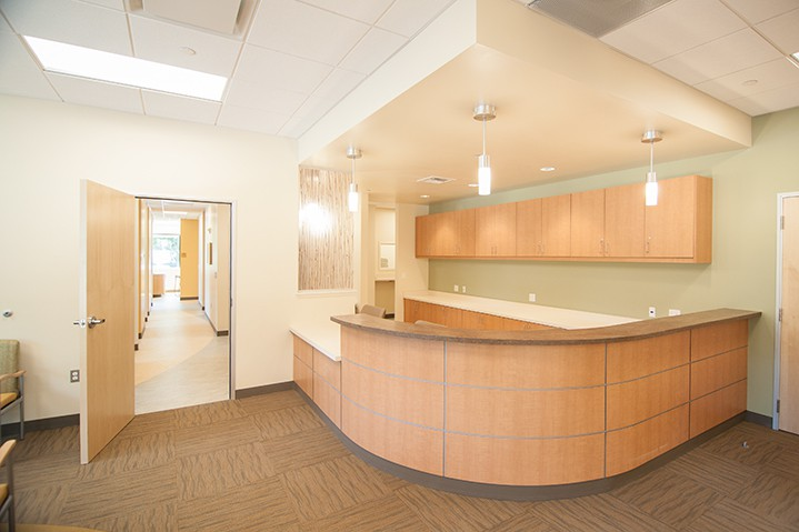 Petaluma Health Center front lobby