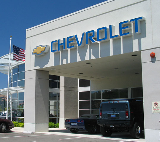 team chevy chevrolet building