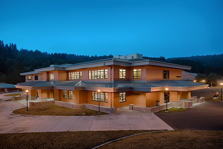 College of the Redwoods education facilty