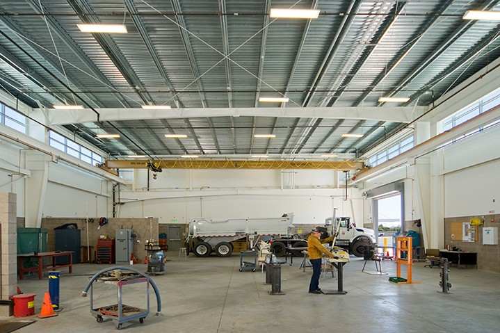 West College maintenance facility