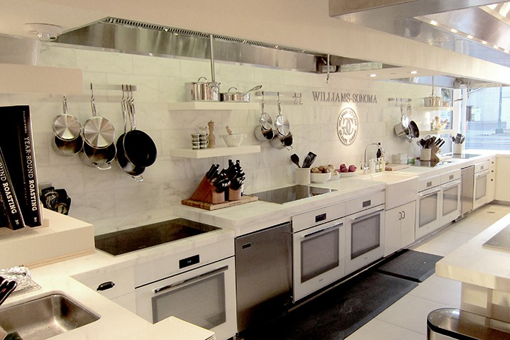 Williams Sonoma kitchen