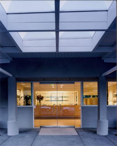 Frank Howard Allen Building Front Entry