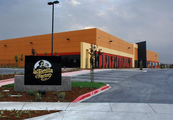 La Tortilla Factory Building Construction