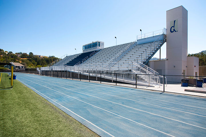 Marin Catholic Grandstand and Fieldhouse