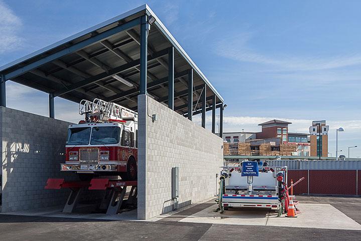 Dublin public safety vehicle wash station